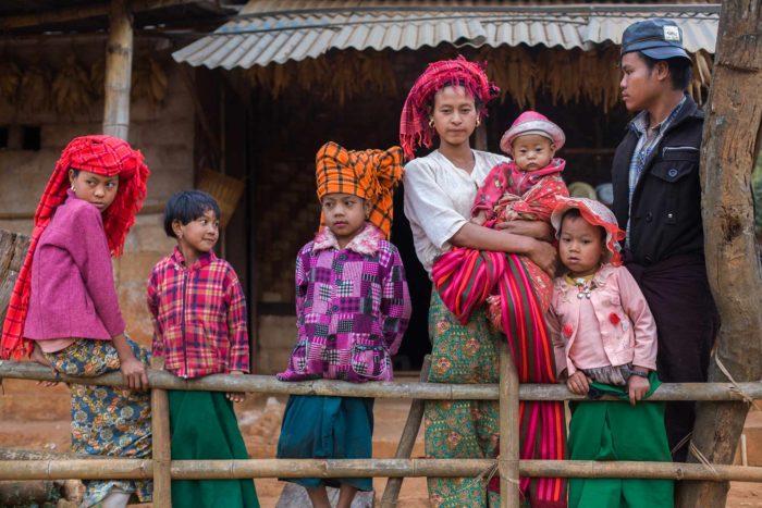 18-family,-myanmar