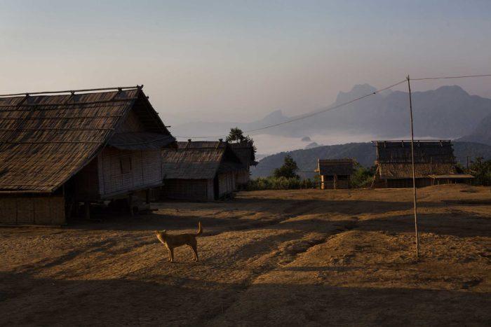 33-northern-village,-laos