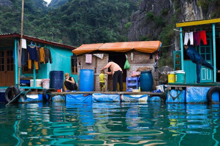 90-houseboats,-cat-ba-island